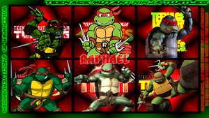 TMNT Generations 2 Wallpaper - Raphael by 2ndCityCrusader