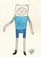 Finn the Human by RoseofVictory