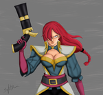 Captain Miss Fortune by jinoku