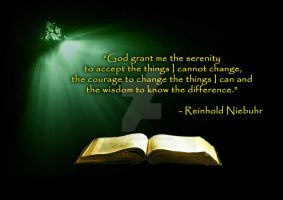 Quote Poster :Reinhold Niebuhr by anshulsharma