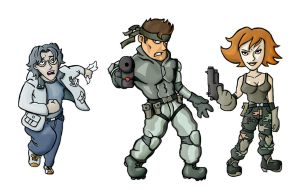 Metal Gear Solid - The Heros by SayIanIanIan