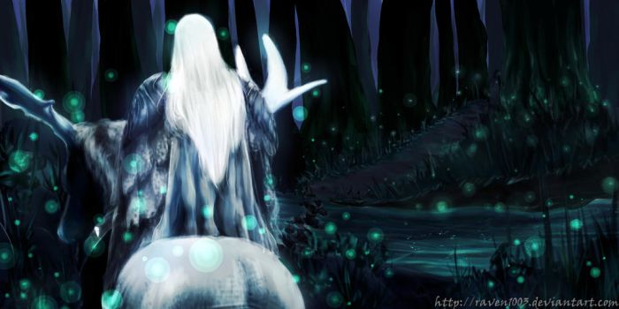 In Mirkwood by raven1003