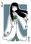 Adventure Time Style Fuyuko - Queen of Spades by catiniata