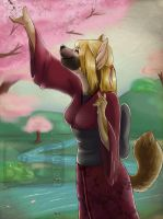 Tranquil Blossoms by RikaPup