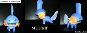 MUDKIP REQUEST by Adisko