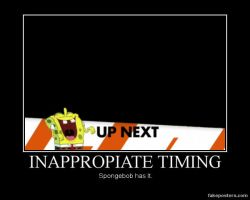 Inappropiate Timing Spongebob Basic by Onikage108