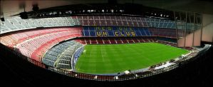 Barcelona: Camp Nou by chaosmo