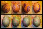 Easter Eggs oh my by IceandSnow