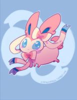 sylveon by zambicandy