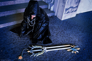 Xion cosplay - My keyblade is not a sham by Rael-chan89