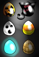 Halloween Egg Adopts, Open, OTA by TaiLSRaVeR135