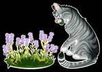 Jayfeather the gardener. by Skelos-kath