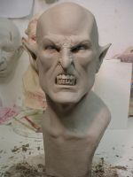 Vampire Sculpture by MonsterAsylum