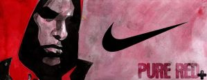 NIKE pure red by Millus