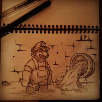 Life of a Plumber by RoninKai