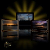 Sunset Gallery II by LoneWolfPhotography