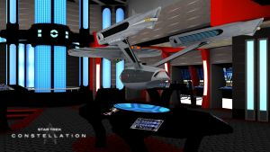 Constellation new Engine Room by PUFFINSTUDIOS