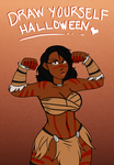 DrawYourselfHalloween2014 by CarnivorousCandy