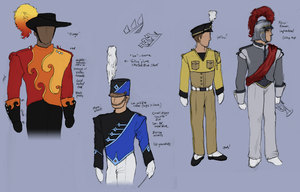 Uniform Designs by lycanthropeful
