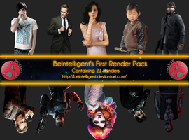 First BeIntelligent Render Pack by BeIntelligent