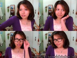 Violet LeBeaux's Short Hair Tutorial Try Out by riotfaerie