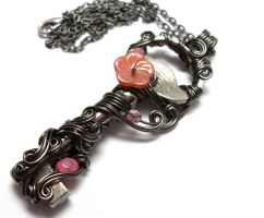 Passage Necklace no. 175 by sojourncuriosities