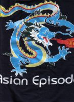 """Asian Episodes"" dragon by MustangFire"