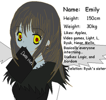 Death Note oc by Taryndedoo