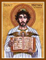 St. Matthew icon by Theophilia