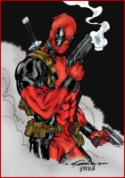 Deadpool by Guile by pascal-verhoef