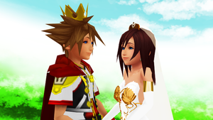 The Final Romances Dearly Beloved Sora and Kairi by 9029561
