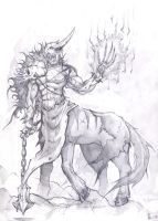 Dark Centaur by Shinsen