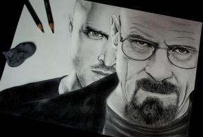 Breaking Bad by LeeArtStudio