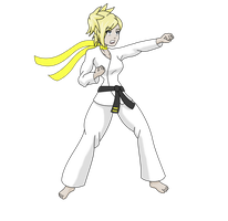 Lisa Silverman Karateka by MegatronMan