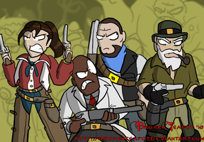Left 4 Red Dead by BrokenTeapot