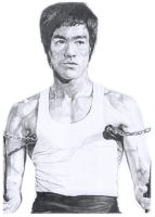 Bruce Lee by frqazi