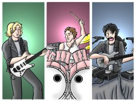 Rush in the 80's by jamesohgoodie