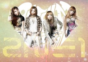 Simple 2ne1 Wallpaper by louisebin