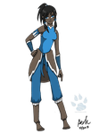 It's Korra! by RedVioletPanda