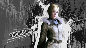 Sherry Birkin wallpaper by VickyxRedfield