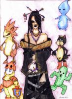 Lulu FFX and friends by iris1999