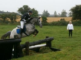 My Horse at Cross Country :D by ashleighh9136