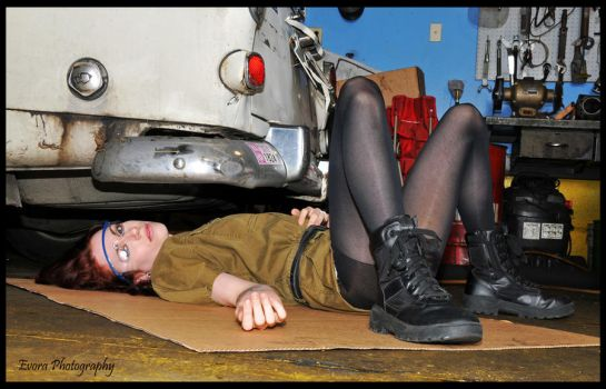 Mechanic at Work by meAnthony