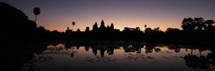 sunrise at Angkor Wat by robertodecampos