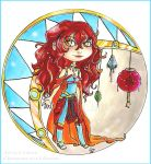 Chibi Korall .The heiress. by Cleox