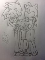 New Hedgehog Family by kaylathecat