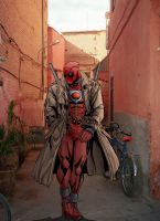 Deadpool Coloured by TruZe