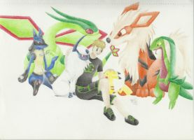 Robert's Pokemon Team by LilDezzi