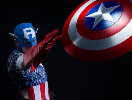 Captain America by moshunman