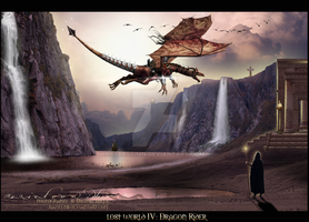 Dragon rider ~ Lost World IV by RazielMB